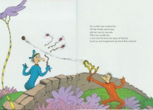 Dr.Suess book page