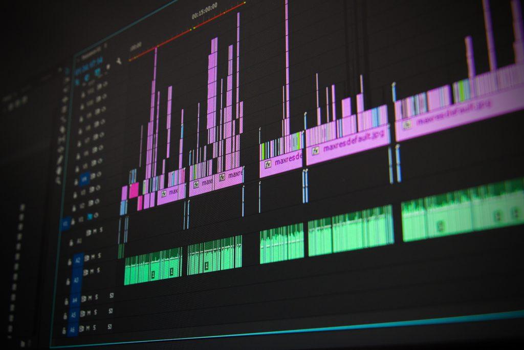 screenshot of adobe premiere pro editing software