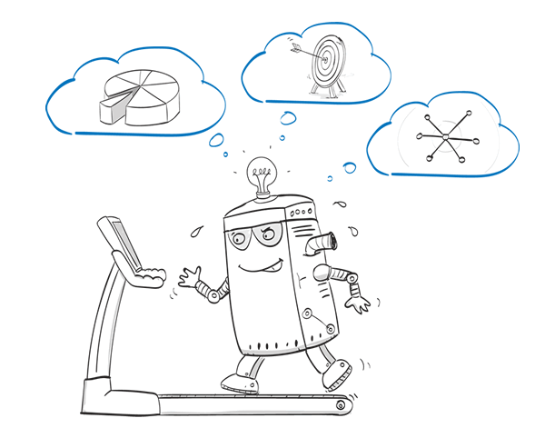 Robotic Process Automation and the future of Artifical intelligence Whiteboard Animation